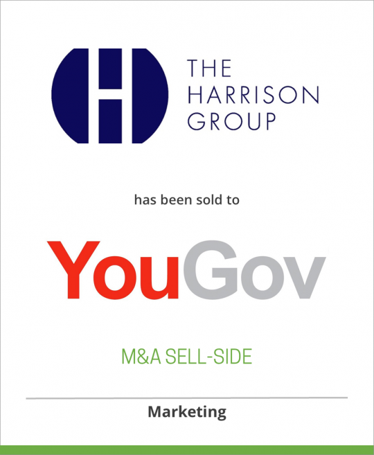 Harrison Group has been sold to YouGov plc.